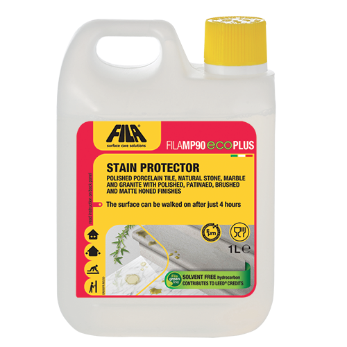 Stain-proofing protector without hydrocarbon solvents FILAMP90 ECO