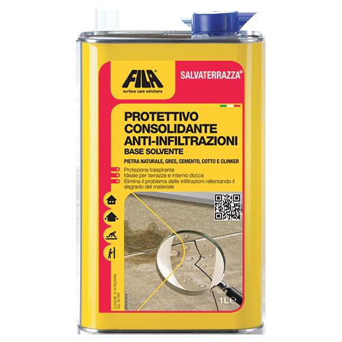 Protettivo consolidante anti infiltrazione base solvente ...