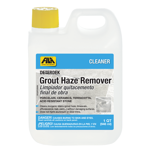 Grout Haze Remover Deterdek Fila Solutions