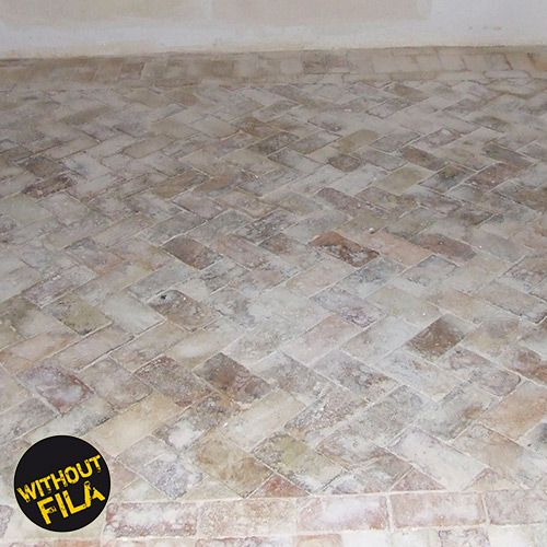 Concrete and grouting residue on terracotta quarry tiles - Pulire cotto interno ...