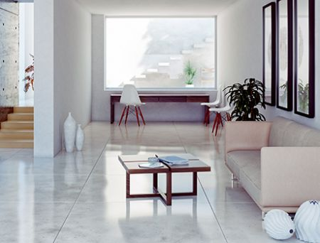 Lappato porcelain tiles
