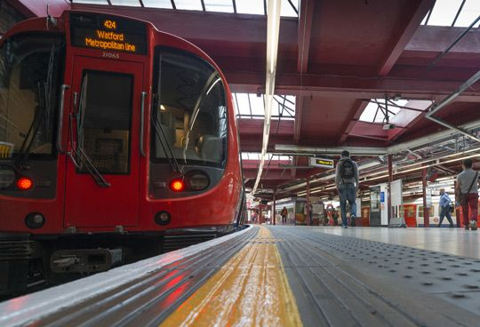 Baker Street Station United Kingdom Of Great Britain And