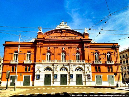 Pulire le cementine - Teatro Petruzzelli Bari